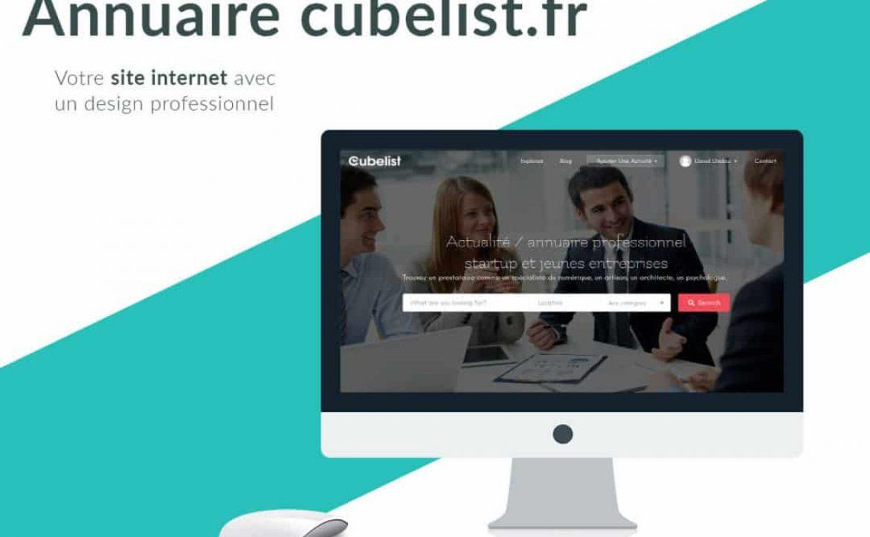 Cubelist – annuaire professionnel