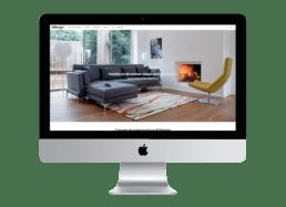 site web ecommerce page principale