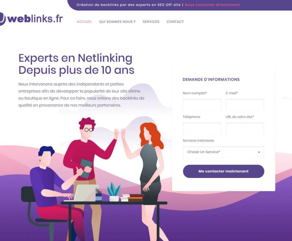 Agence Netlinking Weblinks