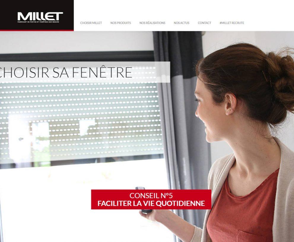 Groupe Millet – Portes et fenêtres sur mesure