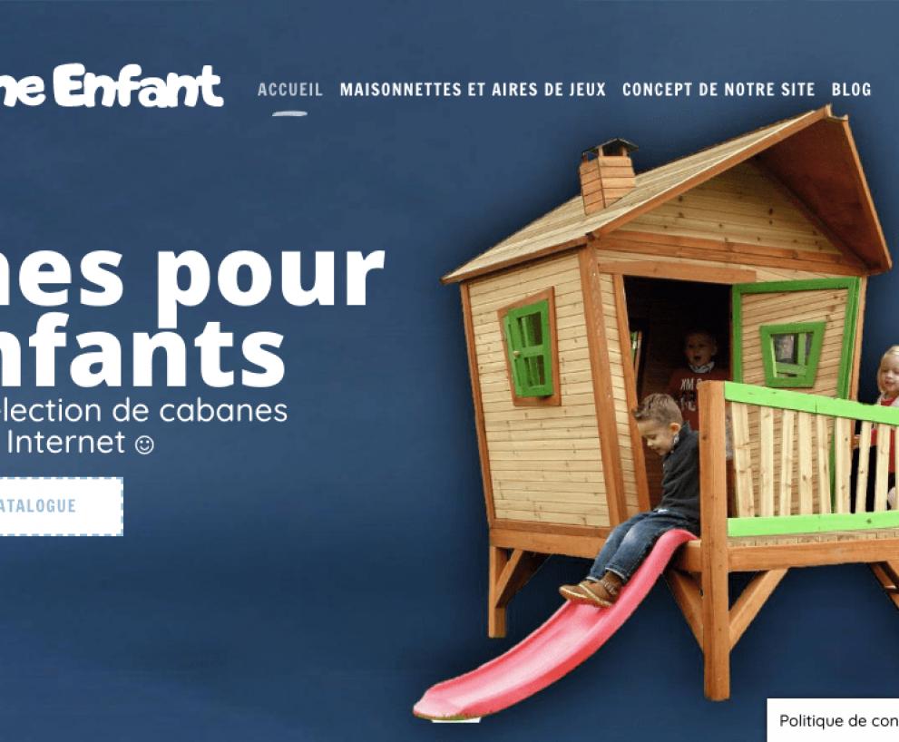 Cabane Enfant – Plateforme spécialisée dans les cabanes au meilleur prix